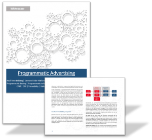 Vorschau Whitepaper Programmatic Advertising von RTBmarkt