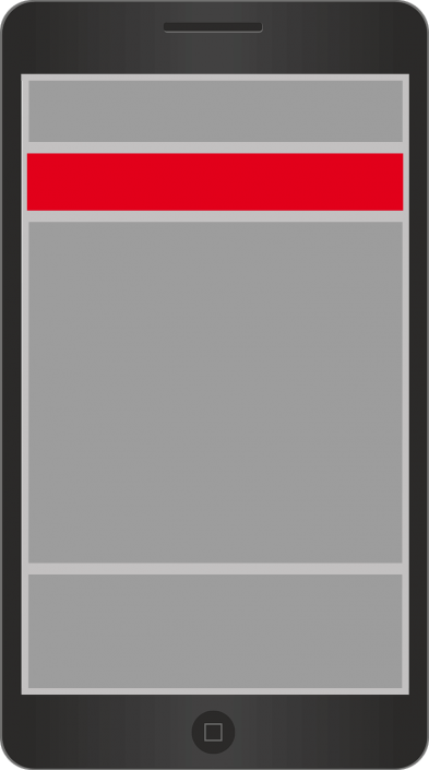 Mobile Sticky Banner Ad 320x50