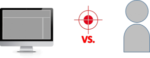 Umgebung-Targeting vs- Personen-Targeting