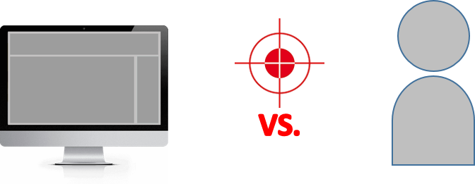 Umgebung-Targeting vs- Personen-Targeting